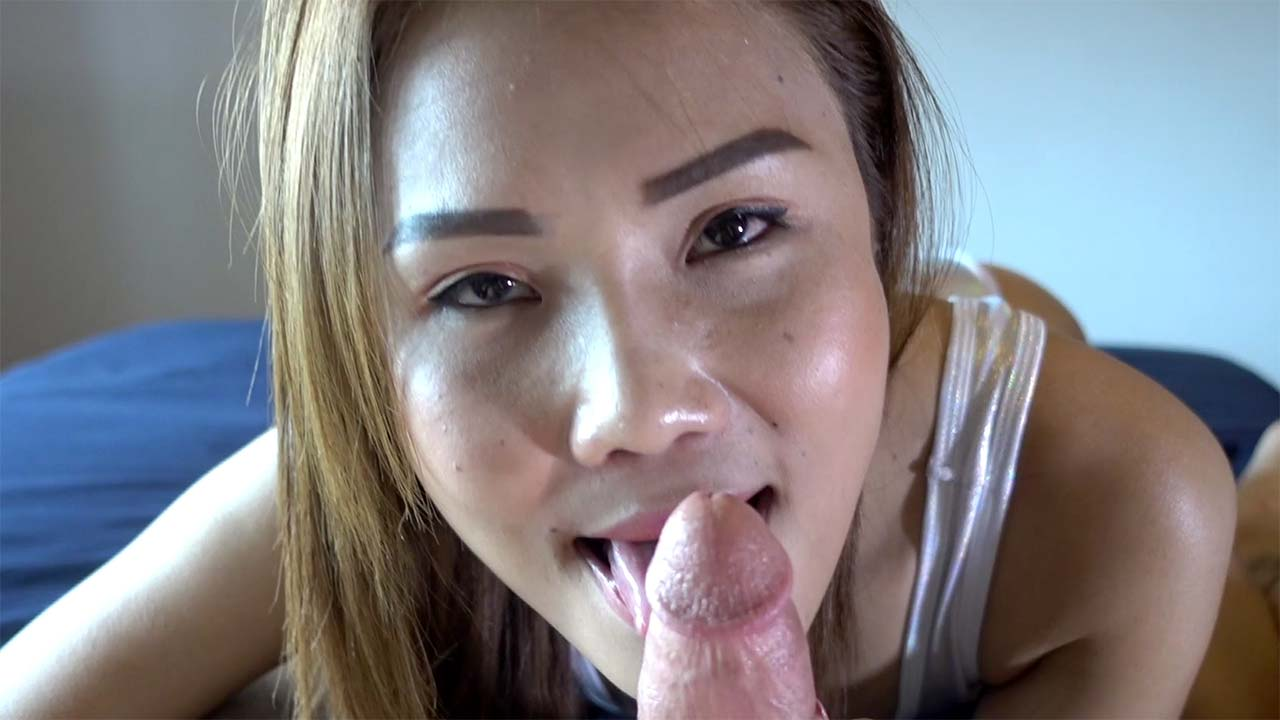 Latina patrol doll is trying hard to suck a very fat black dick